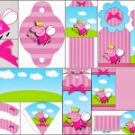 Peppa Pig Fairy: Free Party Printables, Images And Backgrounds.   Oh   Peppa Pig Free Printables