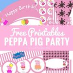 Peppa Pig Party Printables + Fun Party Ideas | Party Time | Pig   Peppa Pig Birthday Banner Printable Free
