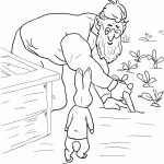 Peter Rabbit Coloring Pages   Coloring Pages For Kids   Free Printable Peter Rabbit Coloring Pages