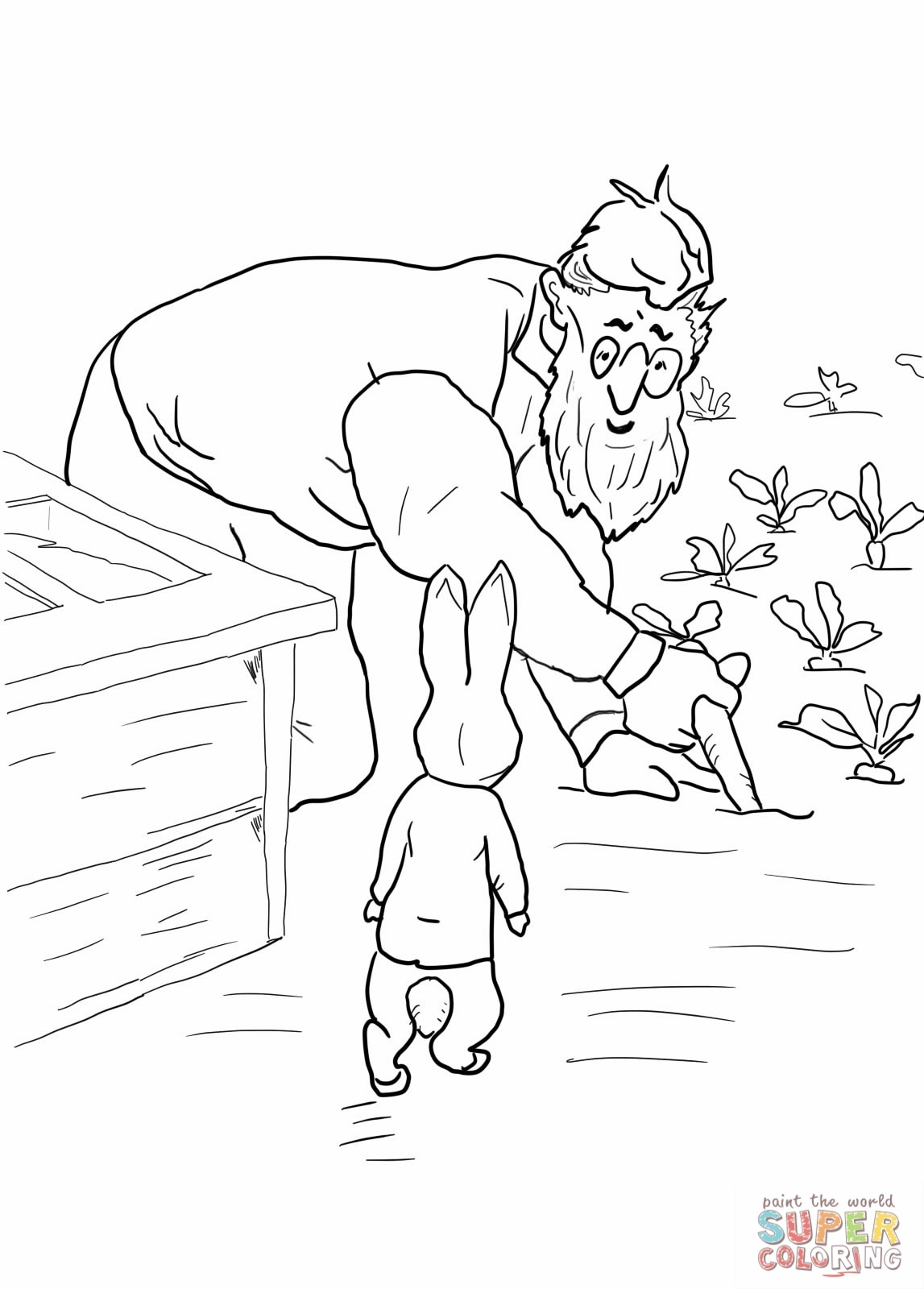 Peter Rabbit Coloring Pages - Coloring Pages For Kids - Free Printable Peter Rabbit Coloring Pages
