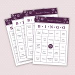 Photo : 30 Printable Bingo Cards Image   Free Printable Bridal Bingo Sheets