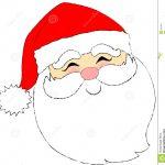 Photo About Cartoon Type Illustration Of A Santa Face. Illustration   Free Printable Santa Claus Face