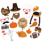 Photo Booth Props   Photo Props   Thanksgiving Photo Booth   Free Printable Thanksgiving Photo Props