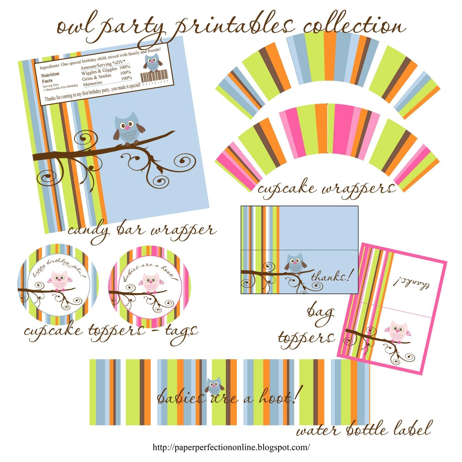 Photo : Free Baby Shower Printables Cupcake Image - Free Baby Shower Printables Decorations