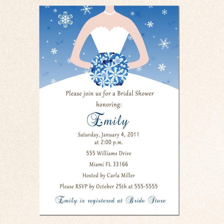 Invitations Bridal Shower Free Printable