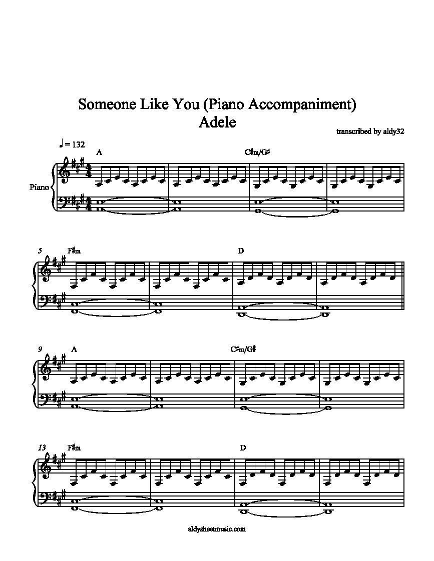 Piano Sheet Music Someone Like You - Google Search | Music In 2019 - Free Printable Sheet Music Adele Someone Like You