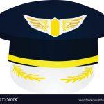 Pilot Hat Royalty Free Vector Image   Vectorstock   Free Printable Pilot Hat Template