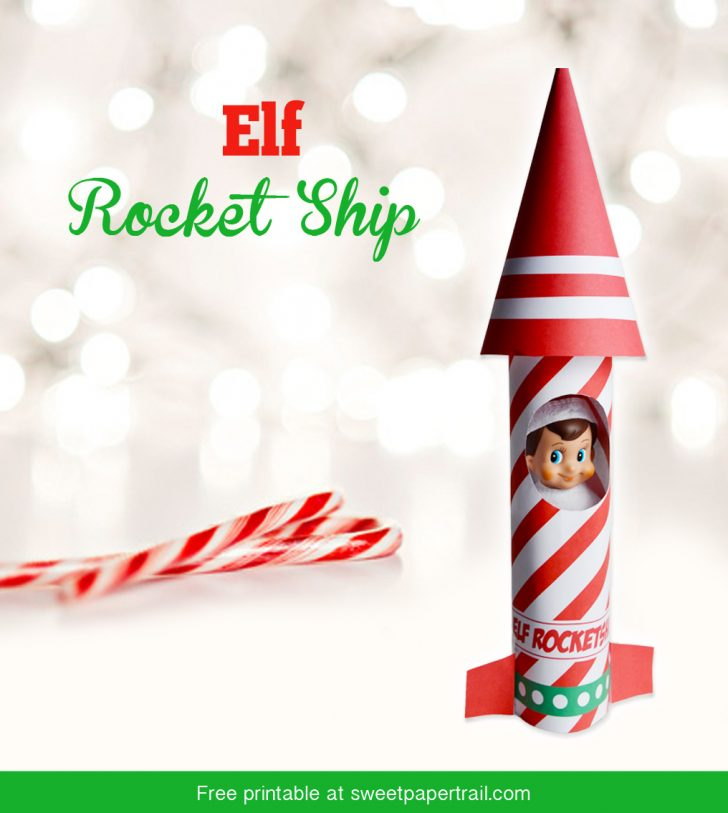 Elf On The Shelf Printable Props Free