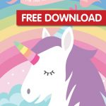 Pin The Horn On The Unicorn Free Printable | Free Printable In 2019   Unicorn Name Free Printable