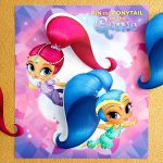 Pin The Ponytail On The Genie | Nickelodeon Parents   Shimmer And Shine Free Printables