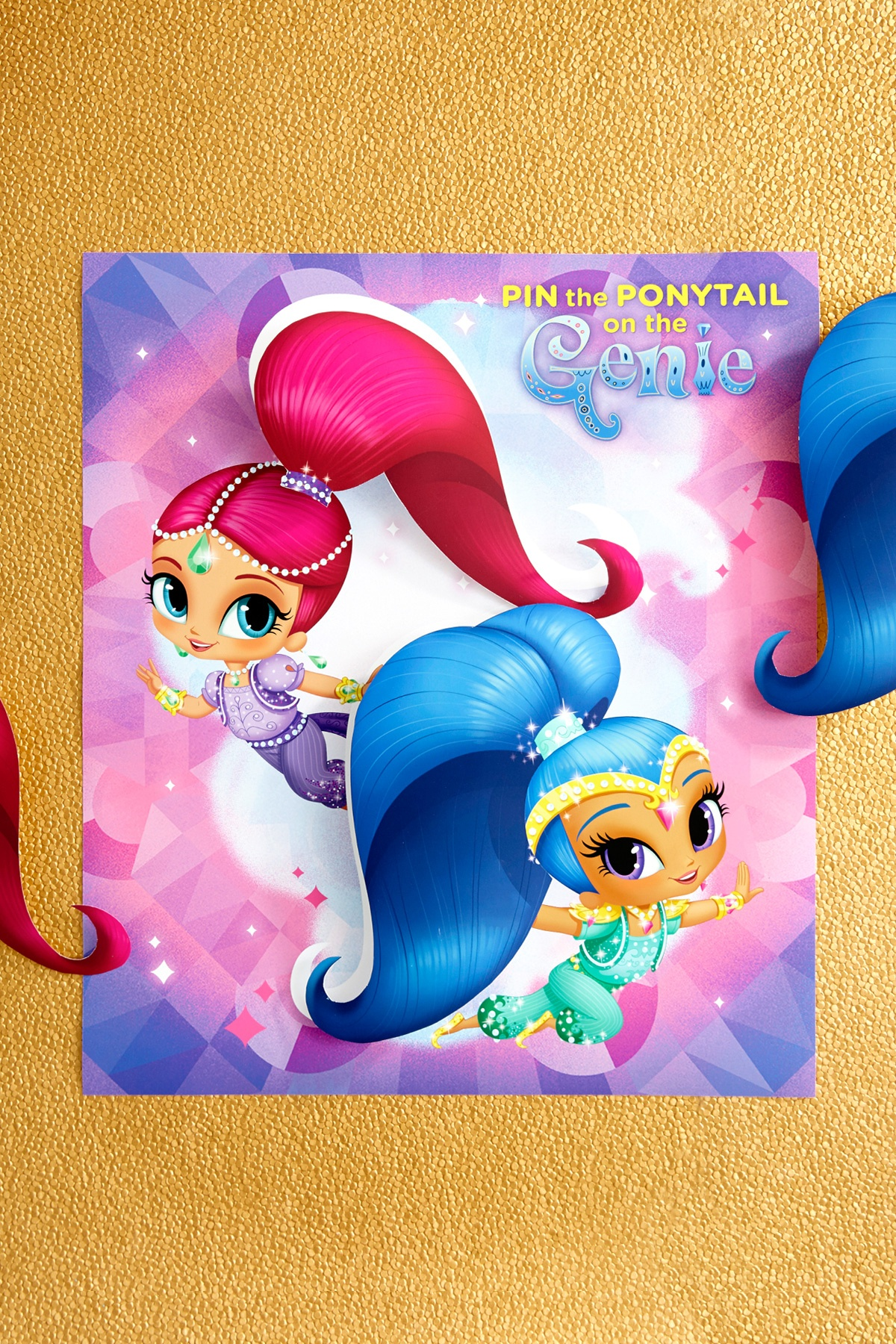 Pin The Ponytail On The Genie | Nickelodeon Parents - Shimmer And Shine Free Printables