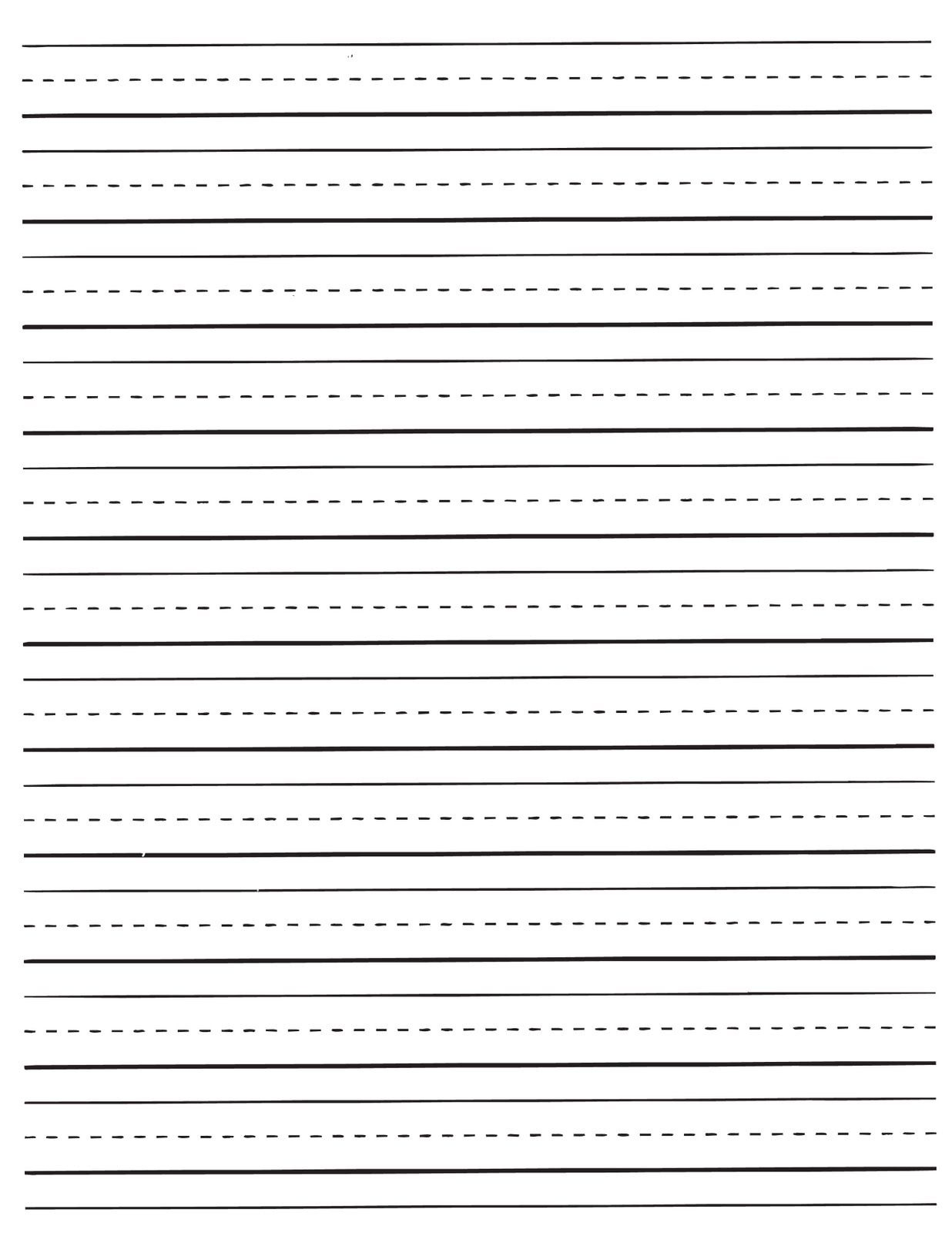 Pinabigail Robertson On Their First Teacher. | Lined Paper For - Elementary Lined Paper Printable Free