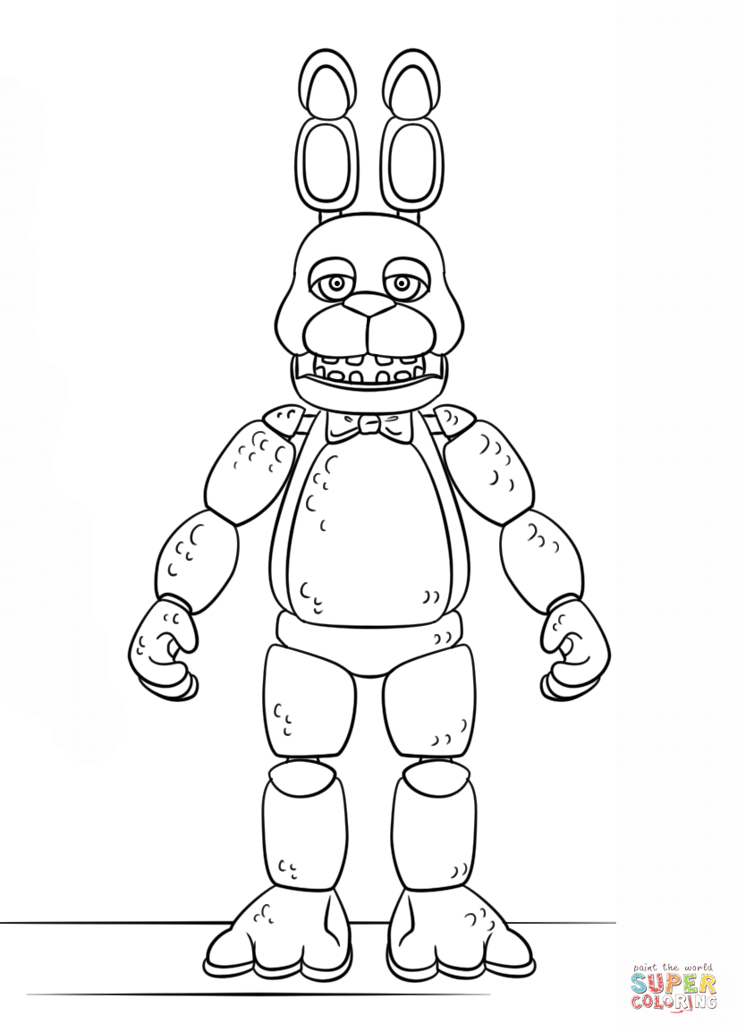 Pincarla Black On Fnaf | Fnaf Coloring Pages, Color, Coloring Pages - Five Nights At Freddy's Free Printables