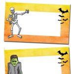 Pinchristi Pew On Hosa Blood Drive | Halloween Buffet, Halloween   Free Printable Halloween Place Cards