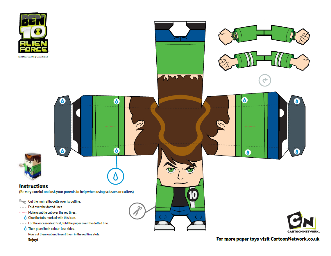 Pincrafty Annabelle On Ben 10 Printables In 2019   Ben 10 Party - Free Printable Ben 10 Cupcake Toppers