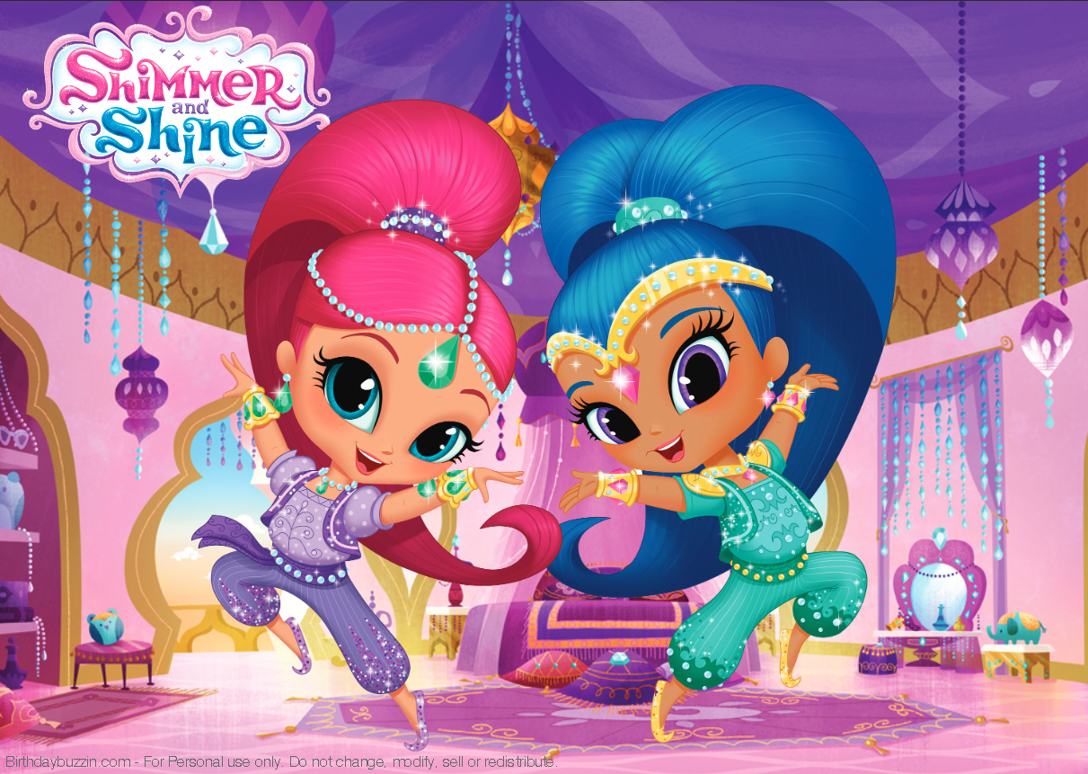 Pincrafty Annabelle On Shimmer & Shine Printables | Shimmer N - Shimmer And Shine Free Printables