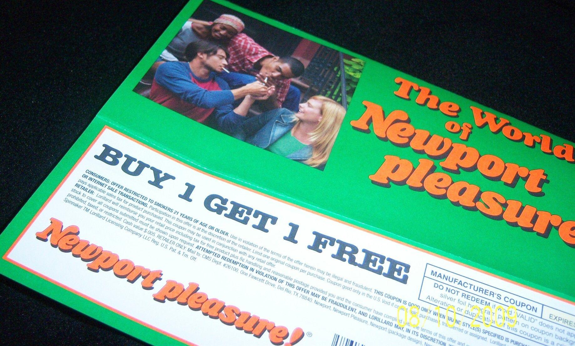 Pindebi On Coupons | Newport Cigarettes, Cigarette Coupons Free - Free Printable Newport Cigarette Coupons