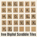 Pindebra Chase On Scrabble | Scrabble Letters Printable   Free Printable Scrabble Tiles