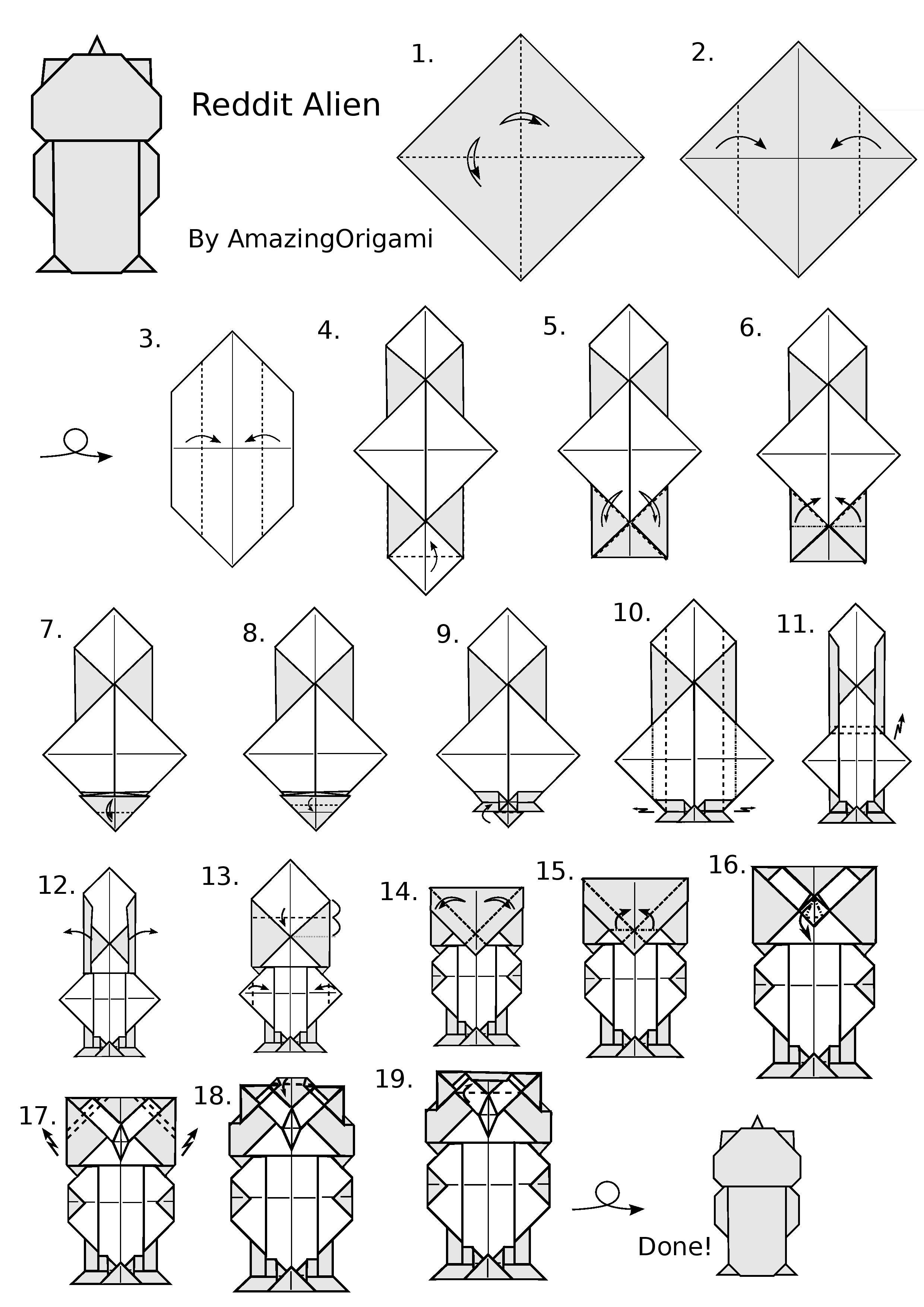 Pinengedi On Origami | Origami Instructions, Origami Tutorial - Free Easy Origami Instructions Printable
