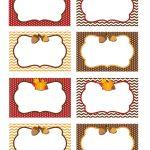 Pinirene Bortolussi On Thanksgiving | Free Thanksgiving   Free Thanksgiving Printables Place Cards