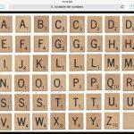 Pinkathee Wheeler On Cards   Birthday | Giant Scrabble Tiles   Free Printable Scrabble Tiles