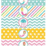 Pinkatheryn Patton On Everly 3Rd Bday In 2019 | Mermaid Party   Free Printable Little Mermaid Water Bottle Labels