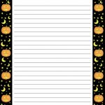 Pinkathy Lee Miller On Halloween | Free Printable Stationery   Free Printable Halloween Stationery