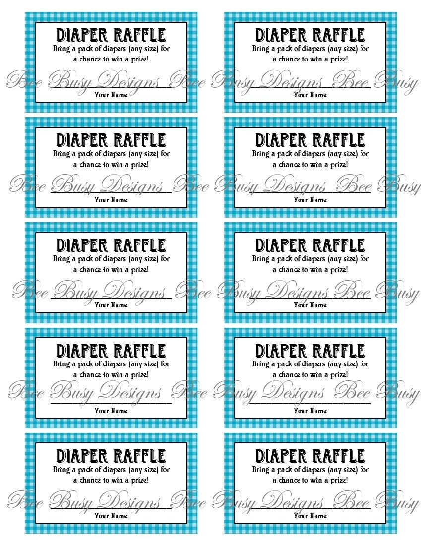 Pinkats Kreations On Baby In 2019 | Diaper Raffle, Baby Shower - Free Printable Diaper Raffle Ticket Template