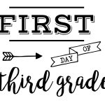 Pinmichelle Fuller On Kid Ideas | Last Day Of School, School   First Day Of Fourth Grade Free Printable