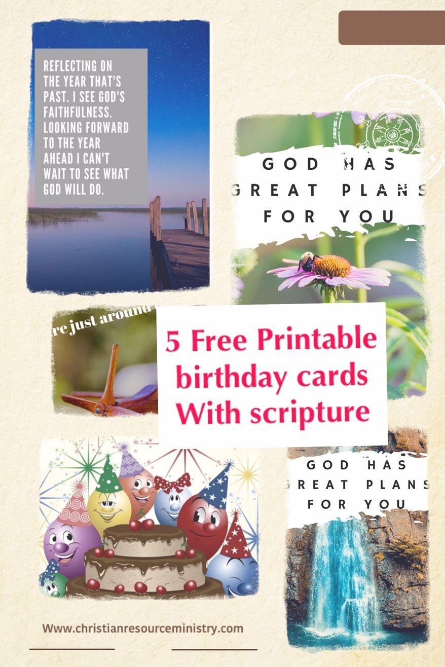 Pinnaomi Fata On Printable Christian Cards | Christian Birthday - Free Printable Christian Birthday Cards For Kids