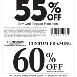 Pinned February 10Th: 55% Off A Single Item At A.#c. Moore #coupon   Free Online Printable Ac Moore Coupons