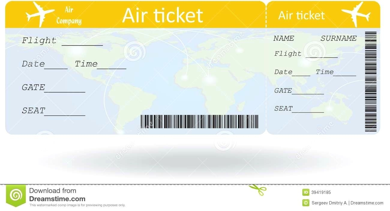 Pinpat Zema On French | Ticket Template, Airline Tickets, Ticket - Free Printable Airline Ticket Template