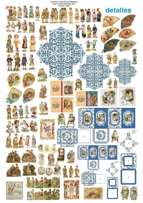 Pinpatricia Ellis On Doll House Tutorials   Dollhouse Miniatures - Free Dollhouse Printables