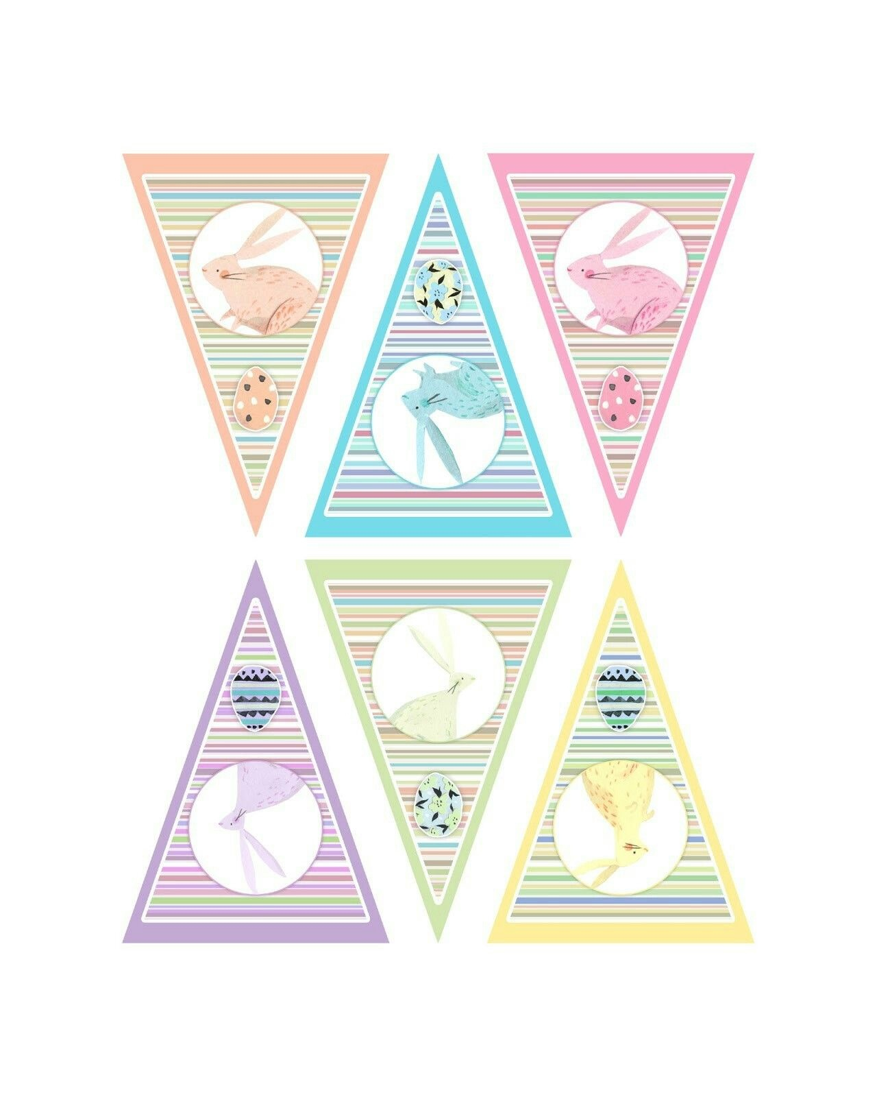 Pinpatricia On Mothers Day Printable | Easter, Easter Dyi, Spring - Free Printable Easter Bunting