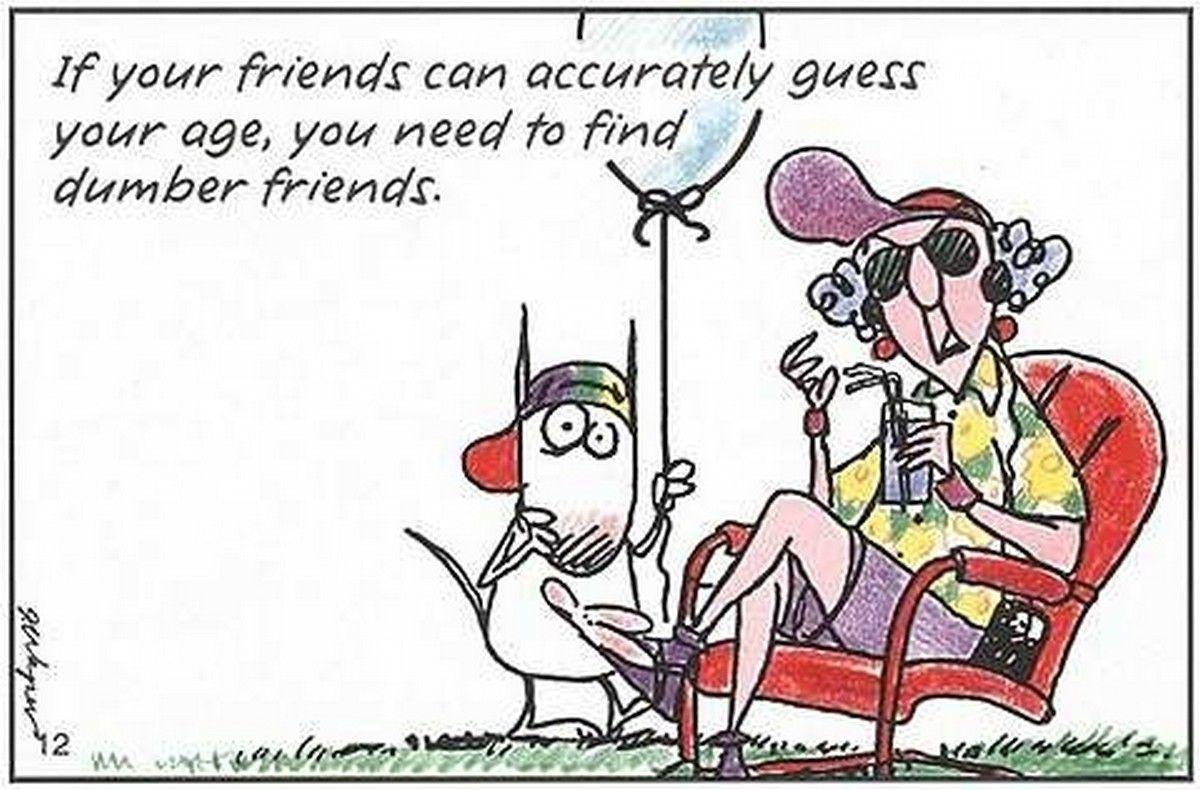 Pinpenny Leggett On Birthdays | Old Lady Humor, Funny, Birthday - Free Printable Maxine Cartoons