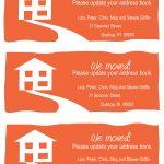 Pinroz Kravitz On Print Shoppe | Change Of Address Cards, Change   Free Printable Change Of Address Cards