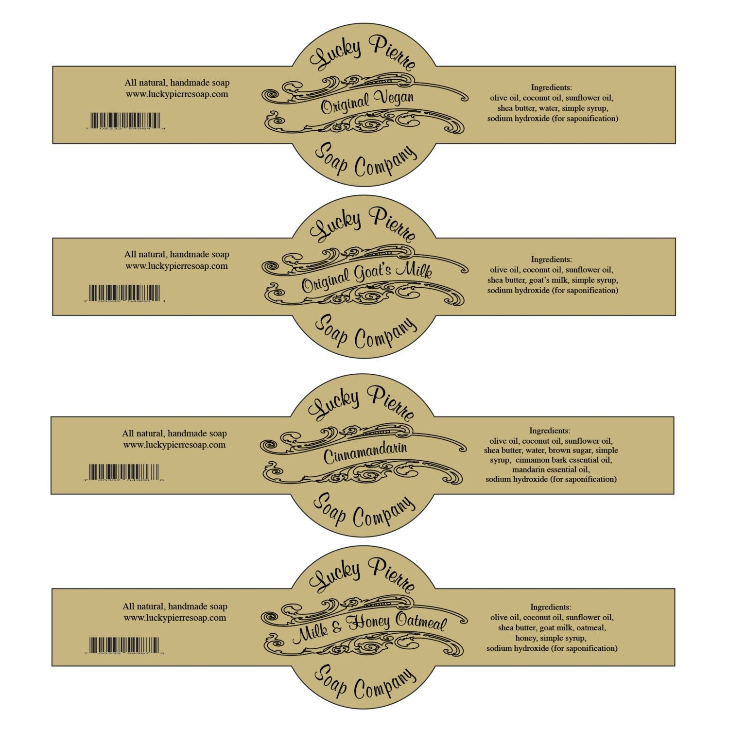 Pinsonja Wiese On Aromatherapy Recipes | Soap Labels, Label - Free Printable Cigar Label Template