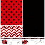 Pinterest   Free Printable Ladybug Invitations