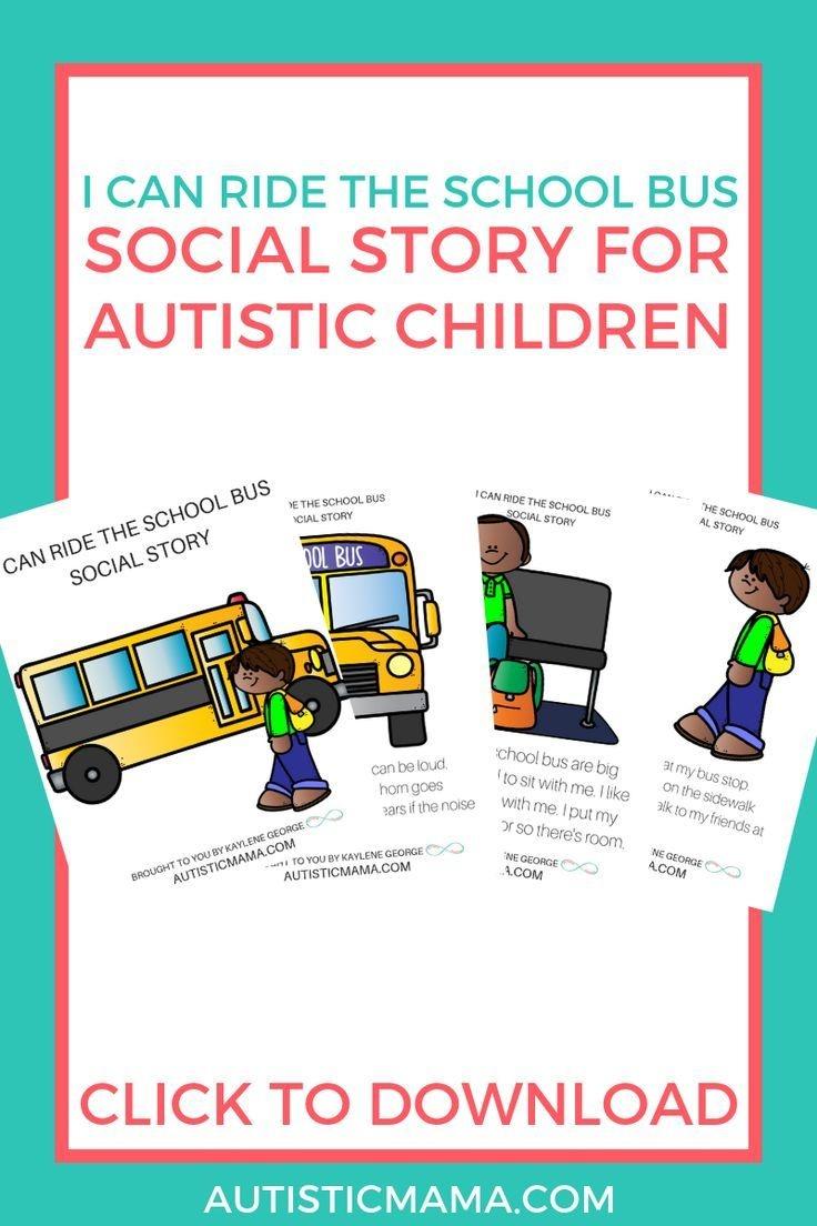 Pinterest - Free Printable Social Stories For Kids