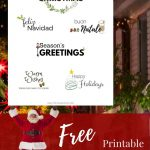 Pinthe Scrap Room   Diy & Craft Tutorials On Svg's Printables   Create Your Own Free Printable Christmas Cards