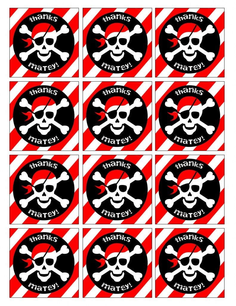 Pirate Birthday Party With Free Printables   Book Fair   Pirate - Free Pirate Birthday Party Printables