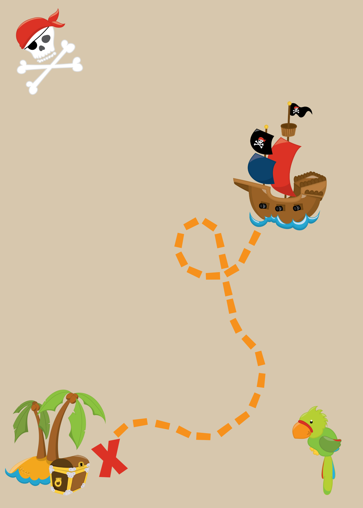 Pirate Party Ideas-Invitations, Food, Games And More - Free Pirate Birthday Party Printables