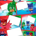 Pj Masks: Free Printable Invitations. | Perty In 2019 | Pj Mask   Free Printable Pj Masks Invitations