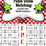 Place Value | Miss Johnson | Math Classroom, Elementary Math, Math   Place Value Game Printable Free