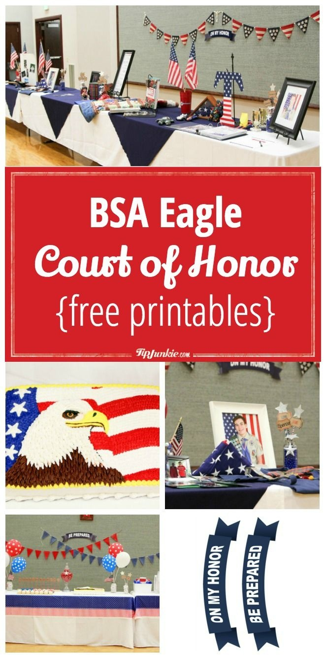 Plan A Bsa Eagle Court Of Honor Includes {Free Printables}   Scouts - Free Eagle Scout Printables