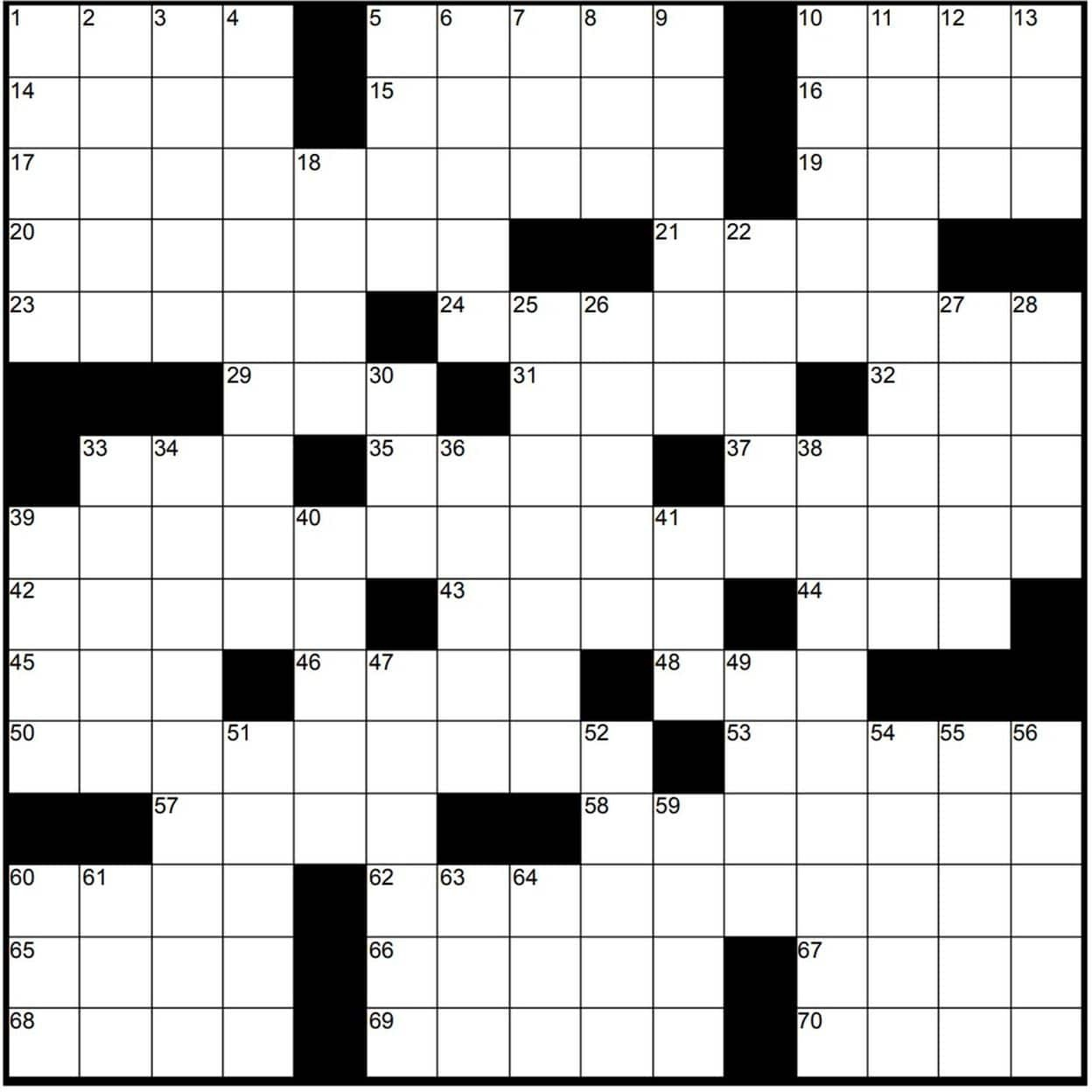 Play Free Crossword Puzzles From The Washington Post - The - Printable Newspaper Crossword Puzzles For Free
