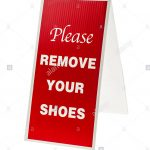 Please Remove Your Shoes Stock Photos & Please Remove Your Shoes   Free Printable Remove Your Shoes Sign