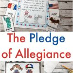 Pledge Of Allegiance Printables | Independence Day Theme  Weekly   Free Printable Drug Free Pledge Cards