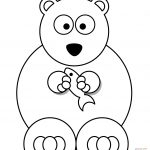 Polar Bears Coloring Pages | Free Coloring Pages   Polar Bear Printable Pictures Free