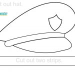 Police Hat Printable | Toddler & Preschool Printables | Police Hat   Free Printable Police Hat